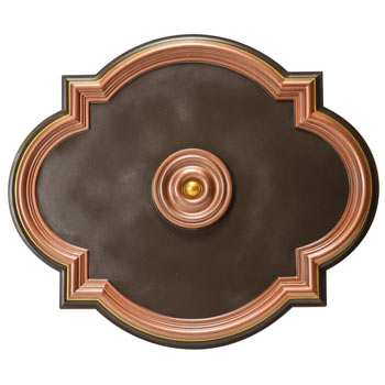 MD-7073 Fall Bronze Ceiling Medallion