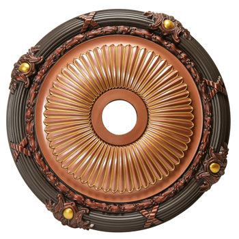 MD-7086 Fall Bronze Ceiling Medallion