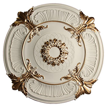 MD-9023 Golden Highlight Ceiling Medallion