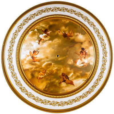 BRRD-16-030LS-NC Michelangelo Medallion