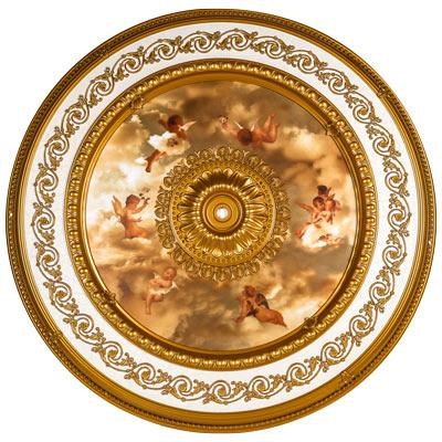 BRRD-16-030LS Michelangelo Medallion