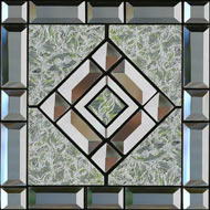 Beveled Glass Printed Tiles