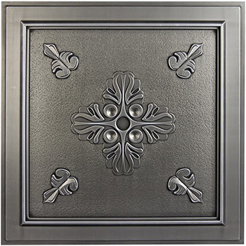 Veranda Ceiling Tile - Antique Nickel