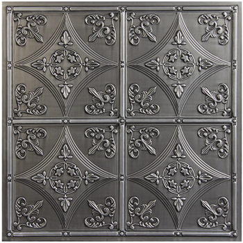 Cathedral Ceiling Tile - Antique Nickel