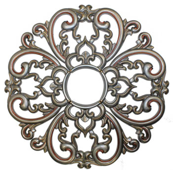 MD-7099 Pewter Ceiling Medallion