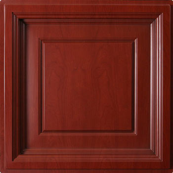 Madison Vinyl Ceiling Tile - Cherry Wood