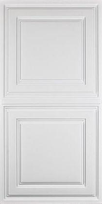 Stratford Vinyl Ceiling Tile - White (2x4)