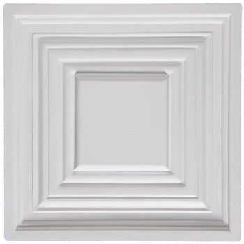 Bistro Ceiling Tile - White