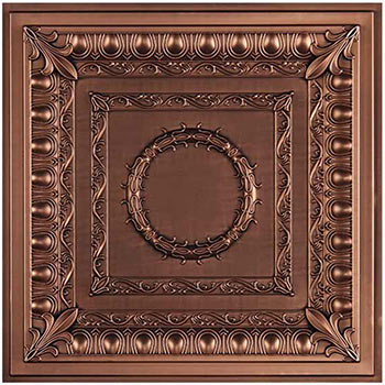 Regal Ceiling Tile - Antique Bronze