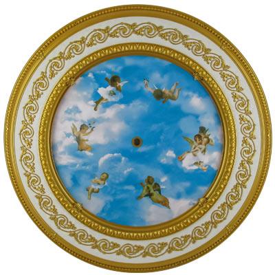 BRRD-16-029LS-NC Michelangelo Medallion