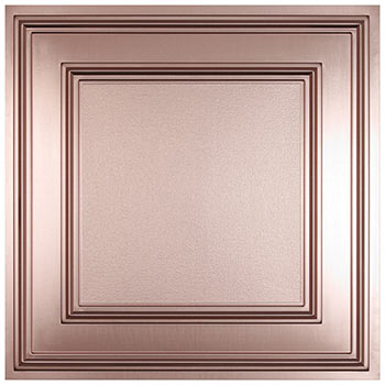 Cambridge Ceiling Tile - Faux Copper
