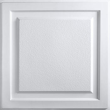Cornerstone Ceiling Tile - White