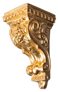 decorative polyurethane, wood and resin corbels