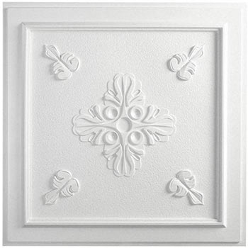 Veranda Ceiling Tile - White