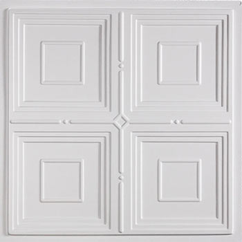 Jackson Ceiling Tile - White
