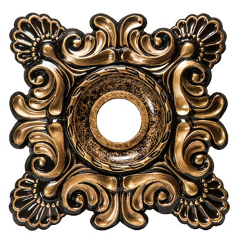 MD-5032 Oil Rubbed Bronze Ceiling Medallion