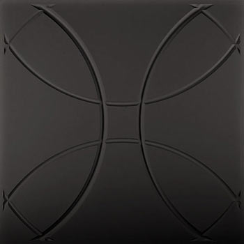 Orb Ceiling Tile - Black