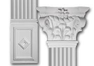 Scroll Top Flat Column Set