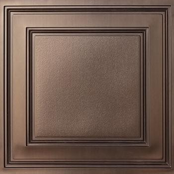 Stratford Vinyl Ceiling Tile - Faux Bronze