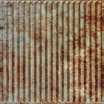 Old Tin Roof Ceiling Tile - Box of 12