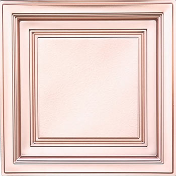 Westminster Ceiling Tile - Faux Copper