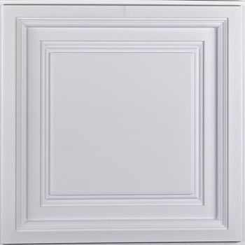 Westminster Ceiling Tile - White