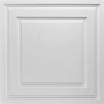 Stratford Vinyl Ceiling Tile - White