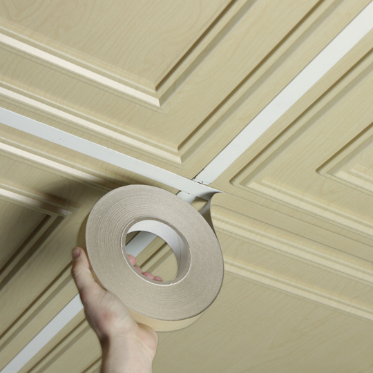 Prolite Decorative Ceiling Tape Ceiling Installation
