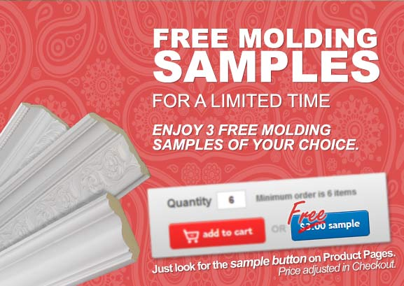 3 Free Molding Samples